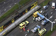 Several injured in shooting on a tram in Utrecht, Netherlands - 18 Mar 2019
