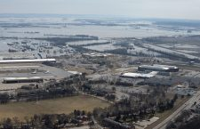 Nebraska flooding, Bellevue, USA - 18 Mar 2019