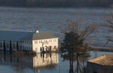 Nebraska flooding, Ashland, USA - 18 Mar 2019
