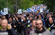 28th 'March of the Living' in Oswiecim, Poland - 02 May 2019