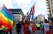 LGTBI March in Havana, Cuba - 11 May 2019