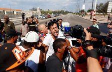 LGTBI activists confront police in Havana, Cuba - 11 May 2019