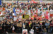 Anti Trump protests during State visit of US President Donald J. Trump to United Kingdom, London - 04 Jun 2019