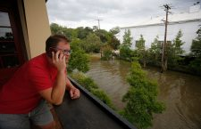 Tropical Storm Barry hits Louisiana, Mandeville, Usa - 13 Jul 2019