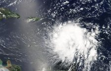 Tropical Storm Dorian approaches Puerto Rico, Space, - - 27 Aug 2019