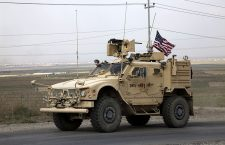 US troops withdrawal from Syria, Duhok, Iraq - 21 Oct 2019